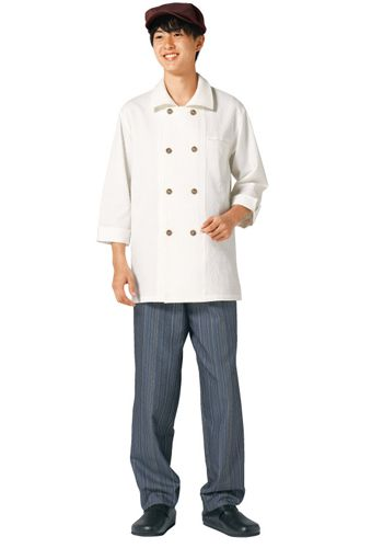 茶×紺の着用例