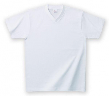 ヘビーウェイトVネックTシャツ(ホワイト