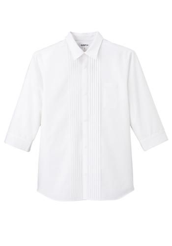 七分袖シャツ