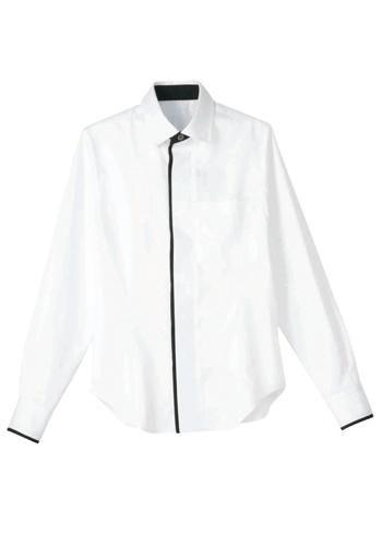 [サンペックス]飲食 長袖シャツ(男女兼