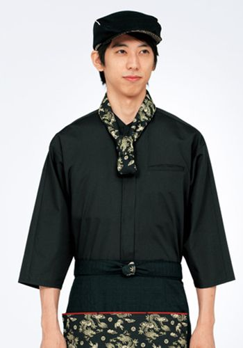 黒の着用例