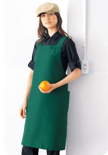 緑の着用例