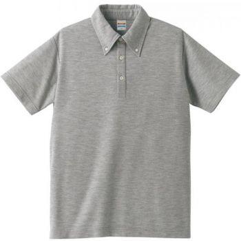 5.3オンスドライT/Cポロシャツ(ボタ