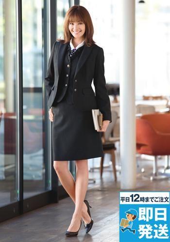 [エンジョイ]事務服 セミタイトスカート