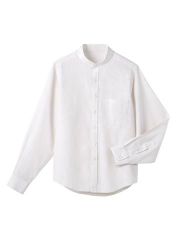 [サンペックス]飲食 長袖シャツ(スタン