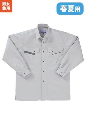 [クロダルマ]作業服 長袖シャツ 制電