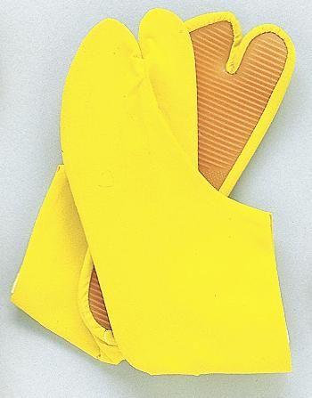 カラー足袋(ゴム底)