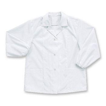 [シンメン]飲食 長袖 調理白衣(女性用