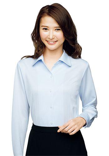 ブルーの着用例