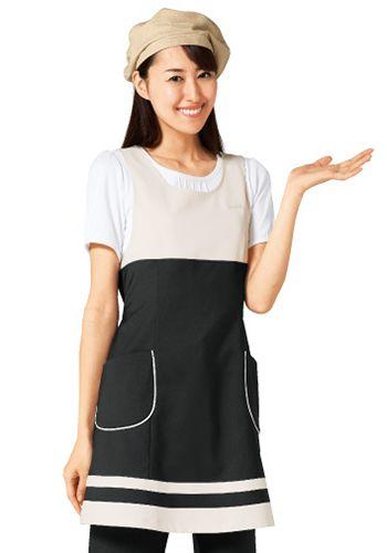 黒×ライトベージュの着用例