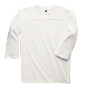 3/4ホッケーTシャツ(ホワイト)