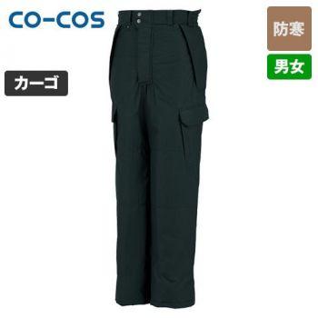 [コーコス]作業服 防寒パンツ(脇シャー