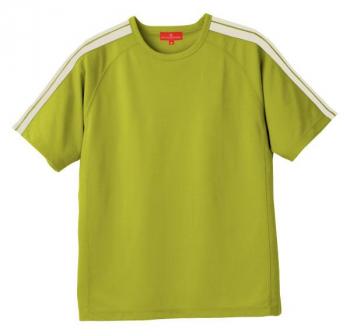 肩ライン入り半袖Tシャツ