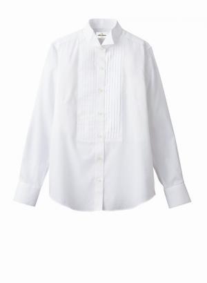 ピンタック ウイングカラーシャツ(女性用