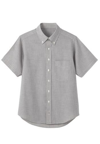 [サンペックス]飲食 半袖シャツ(ボタン