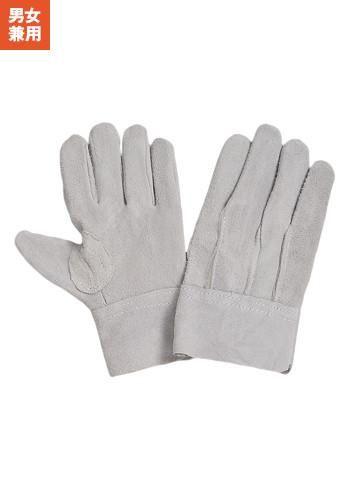 [一旦、非表示][おたふく手袋]床革外縫