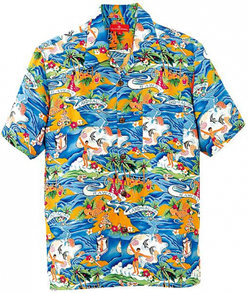 アロハシャツ(パラダイス柄)