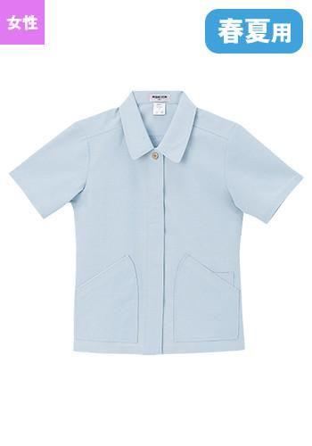 [ペチクール]作業服 半袖ジャケット(女