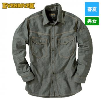 SR-2006 イーブンリバー エアーライトシャツ