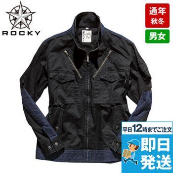 ROCKY RJ0906 フライトジャケット コンビネーション(男女兼用)
