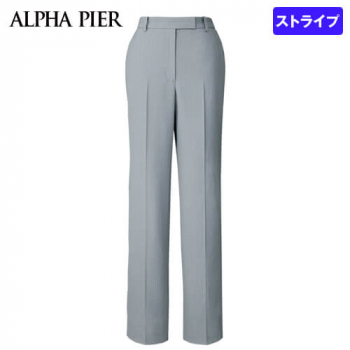 AR5880 アルファピア [通年]パンツ [ストライプ/防シワ/防汚]