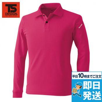 TS DESIGN 4075 ESロングスリーブポロシャツ(男女兼用)