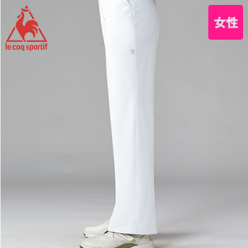 UQW2037 ルコック ストレートパンツ(女性用)