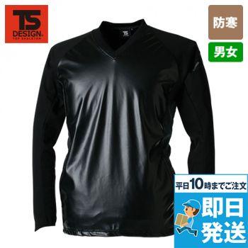 TS DESIGN 4525 [秋冬用]ストレッチウインドブレーカーシャツ