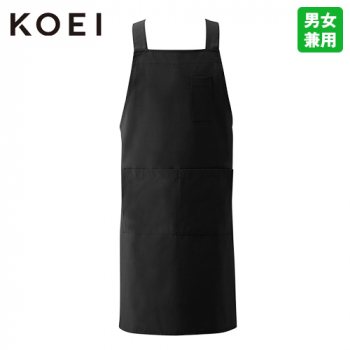 KI250 興栄繊商 軽量胸当てH型エプロン/M(男女兼用)
