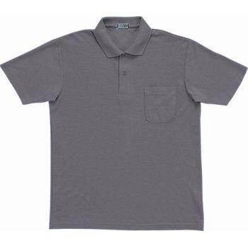 [シンメン]E/C半袖鹿の子ポロシャツ
