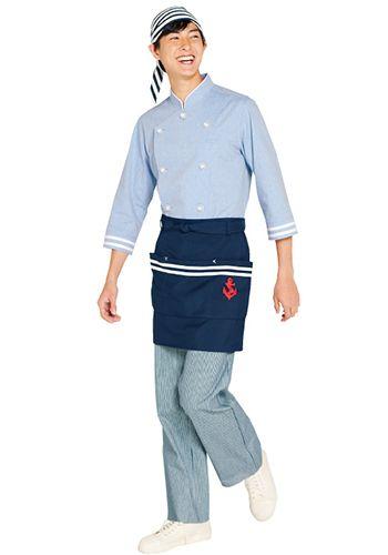 紺の着用例