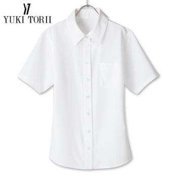 [在庫限り/返品交換不可]YT1701 ユキトリイ 半袖ブラウス エスメニガードSe加工