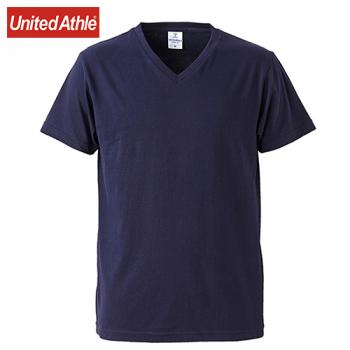 ファインジャージー Vネック Tシャツ(4.7オンス)(男女兼用)