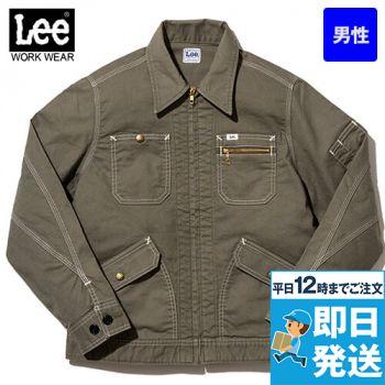 Lee LWB06002 [通年]ジップアップジャケット(男性用)