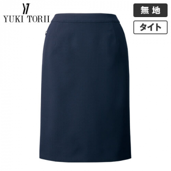 YT3916 ユキトリイ タイトスカート 無地