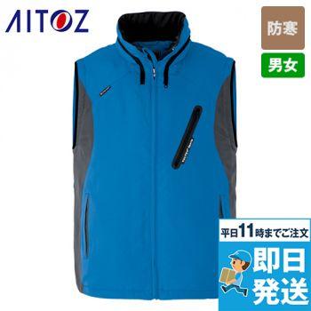 AZ10308 アイトス [秋冬用]フードイン中綿ベスト(男女兼用)
