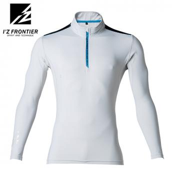 206 アイズフロンティア 接触冷感コンプレッションジップアップシャツ