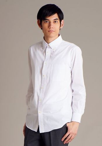 ブロードボタンダウンシャツ長袖 2780
