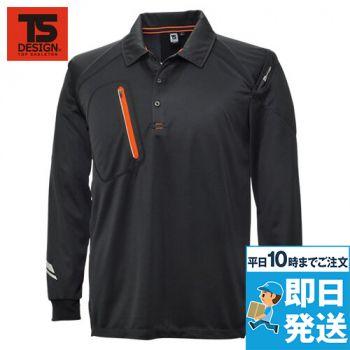 5075 TS DESIGN FLASH 長袖ポロシャツ(男女兼用)