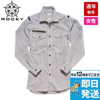 RS4302 ROCKY ワークシャツ(女性用)