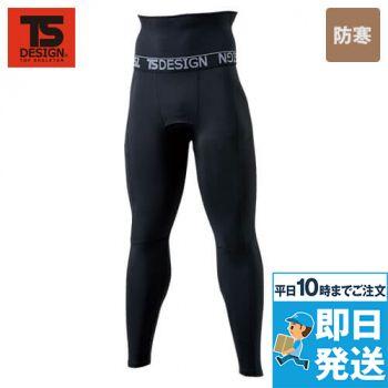 TS DESIGN 8224 マイクロフリース腹巻付きロングパンツ(男性用)