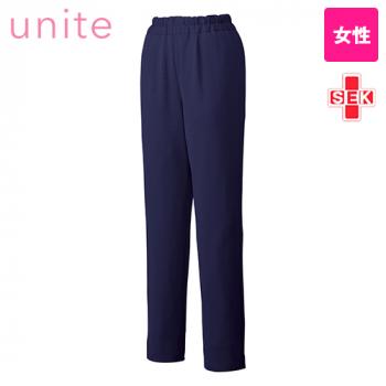 UN-0076 UNITE(ユナイト) ブロックニット スクラブパンツ(女性用)