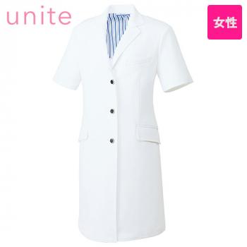 UN-0086 UNITE(ユナイト) 半袖ドクターコート(女性用)