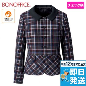 BONMAX AJ0265 ジャケット[チェック/抗菌防臭] 36-AJ0265