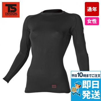 TS DESIGN 81252 [通年]ES DEO レディースロングスリーブシャツ