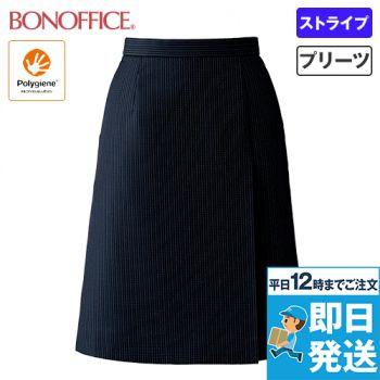 AS2323 BONMAX/ブレイニーストライプ プリーツスカート