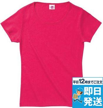 [廃番商品]クルーネックTシャツ(女性用