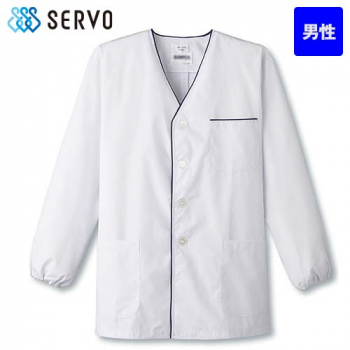 FA-375 SUNPEX(サンペックス) 長袖 デザイン白衣(男性用)