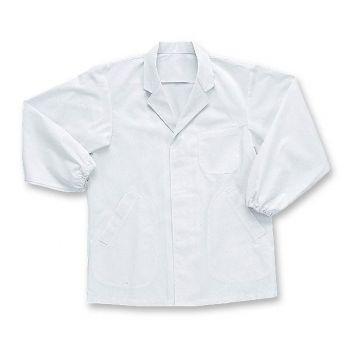 [シンメン]飲食 長袖 調理白衣 (男性