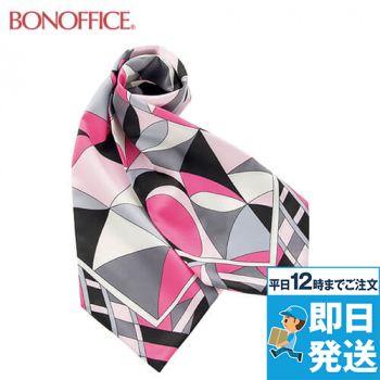 BONMAX BA9136 都会的なパターンが魅力の正統派スカーフ